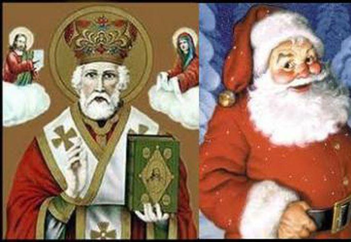 San Nicolás nació y sirvió como obispo en el siglo IV en lo que ahora es la localidad turca de Demre, en la costa turca mediterránea, cerca de Anatolia. (Internet/Contexto)