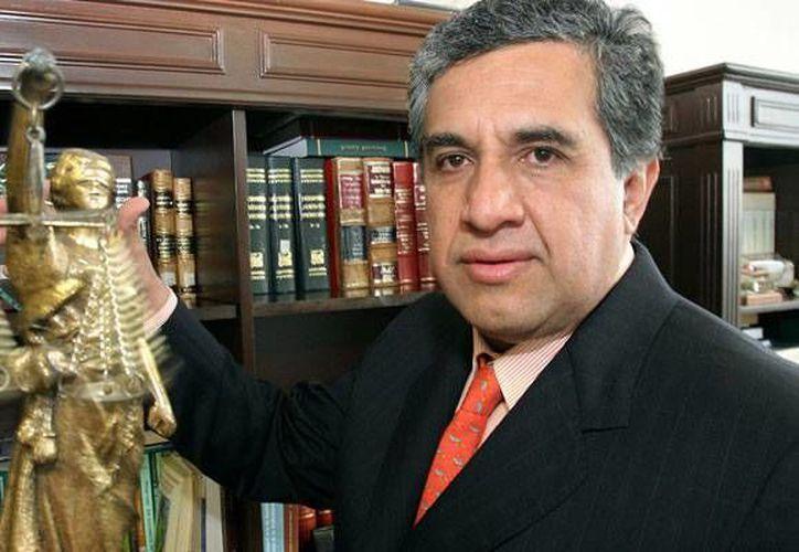 Jesús Guadalupe Luna Altamirano asegura que nunca le han llamado la atención durante toda su carrera judicial. (periodicocorreo.com.mx)