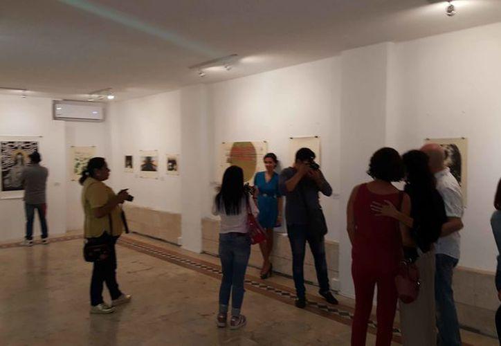 Las obras estarán en el Centro Cultural de las Artes hasta el 9 de abril. (Jocelyn Díaz/SIPSE)