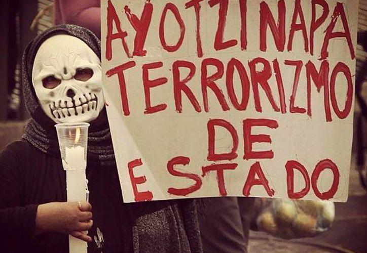 Más de 30 las escuelas de nivel medio y superior en la Ciudad de México se encuentran en paro en solidaridad con los normalistas de Ayotzinapa.(facebook.com/YoSoy132Filos)