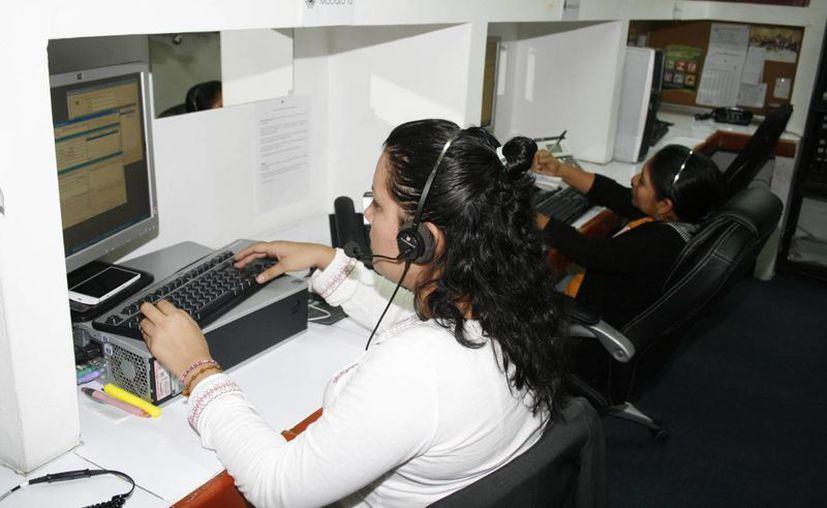 Atención Ciudadana del Ayuntamiento de Mérida ofrece ayuda a través del Centro de Atención Telefónica Ayuntatel. (Milenio Novedades)