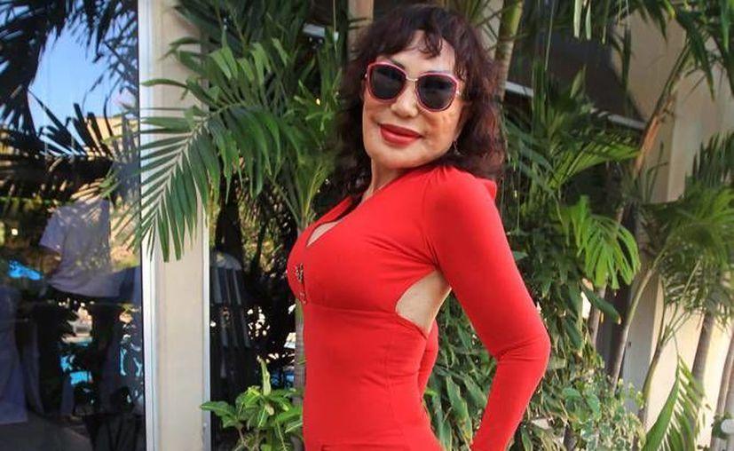 Lyn May presentará un nuevo espectáculo este cuatro de febrero en la Ciudad de México. (Archivo Notimex)