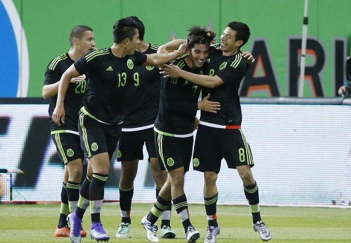 La selección mexicana conforma el bombo 1, en el que se encuentran los cabezas de serie de cada grupo. (AP)