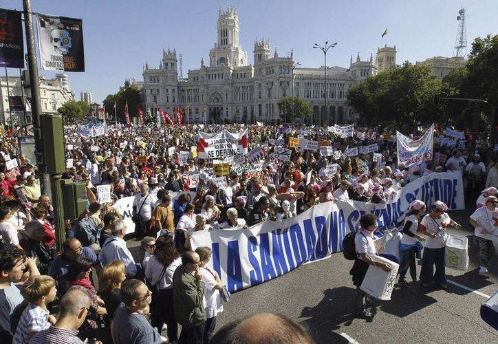 Los manifestantes señalaron que continuarán tomando las calles. (EFE)