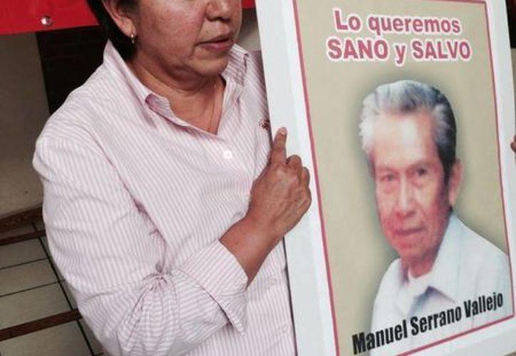 Crean el hashtag #LoQueremosSanoySalvo donde piden a Eruviel Eruviel Ávila que actúe para esclarecer la desaparición del padre de la alcaldesa de Ixtapaluca, Maricela Serrano. (Facebook)