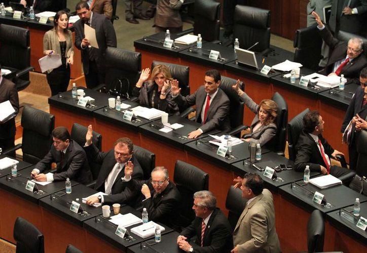 Los senadores hicieron algunos cambios a la propuesta del Presidente. (Notimex)