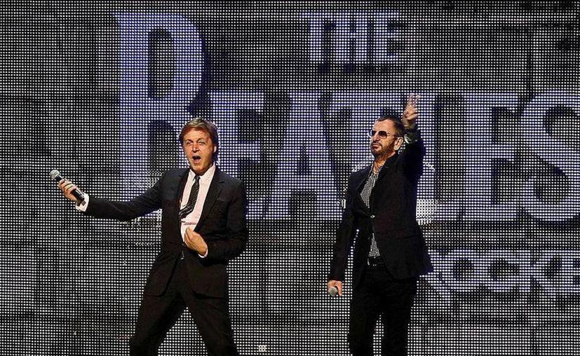 La esperada reunión de Paul McCartney y Ringo Starr será para recibir, en nombre de los Beatles, el premio a la trayectoria por su contribución a la música. (Agencias)