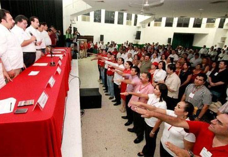 Varios yucatecos que fueron excandidatos a cargos de elección popular, fueron designados como delegados en Quintana Roo. (Milenio Novedades)