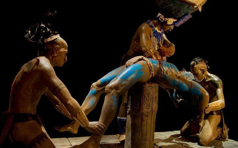mayan sacrifice thousand