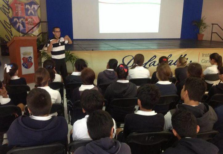 Los talleres se realizan en distintos jardines de niños, primarias, secundarias y preparatorias de Benito Juárez, Isla Mujeres y Puerto Morelos. (Redacción/SIPSE)