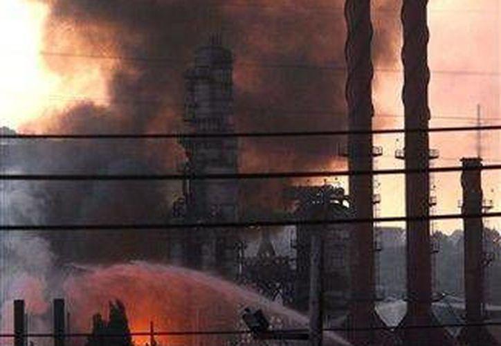 El incendio ocurrió el  6 de agosto de 2012. (Agencias)