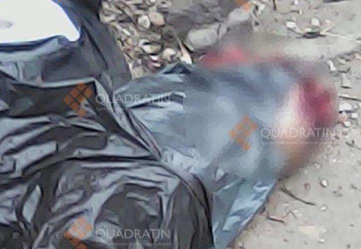 Las bolsas con los restos humanos fueron encontradas en la cabecera municipal de La Piedad. (Cecilia Sierra/quadratin.com.mx)