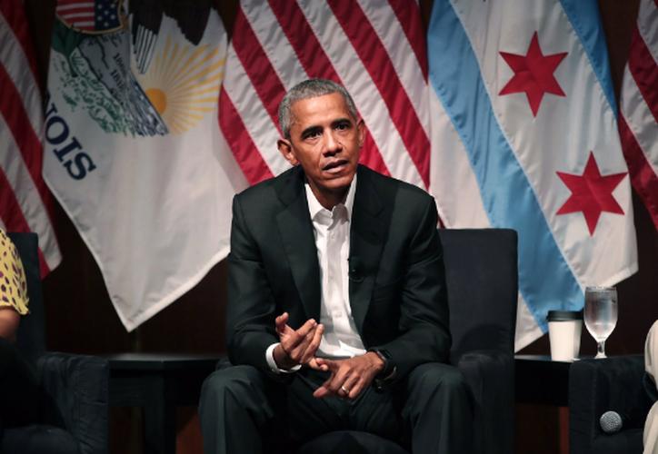 La reaparición pública de Obama se da en la misma semana en que el presidente Donald Trump llega a su marca de los primeros 100 días en el cargo. (Internet).