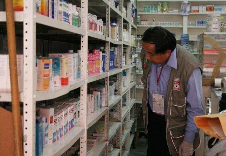 En el mercado ilegal, un 30% de los fármacos ya han caducado. (Archivo/SIPSE)