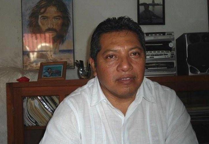 José Gilberto Pérez Ceh, rector del Seminario Conciliar de Yucatán: el Papa no ha abierto la posibilidad de tener diáconos mujeres. (Milenio Novedades)