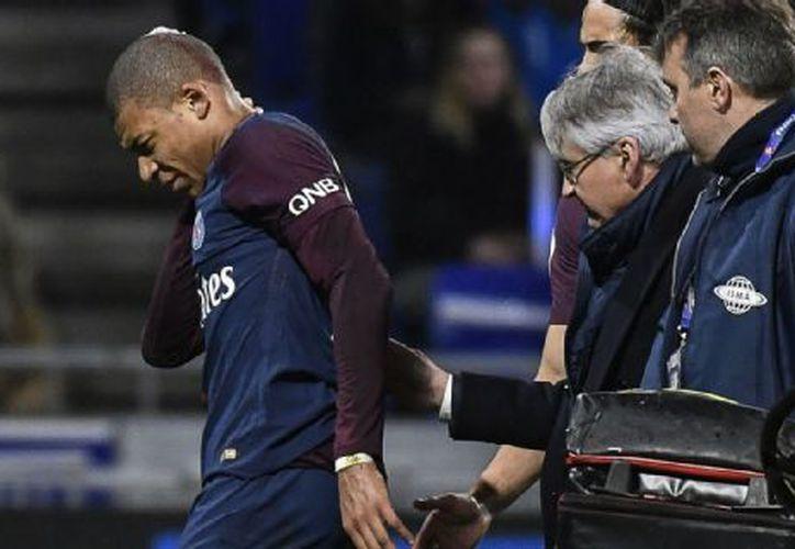 La lesión de Kylian Mbappe llega en un momento delicado de la temporada para el conjunto parisino. (Contexto/ Internet)