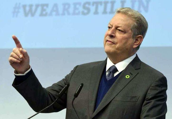 El Premio Nobel de la Paz, Al Gore, llegará a la entidad en marzo de 2018; convocatoria. (Imagen de AP)