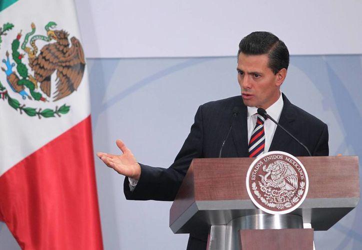 El Presidente de la República insistió en que el objetivo de las reformas estructurales se encaminan a combatir la pobreza y el desempleo. (Notimex)