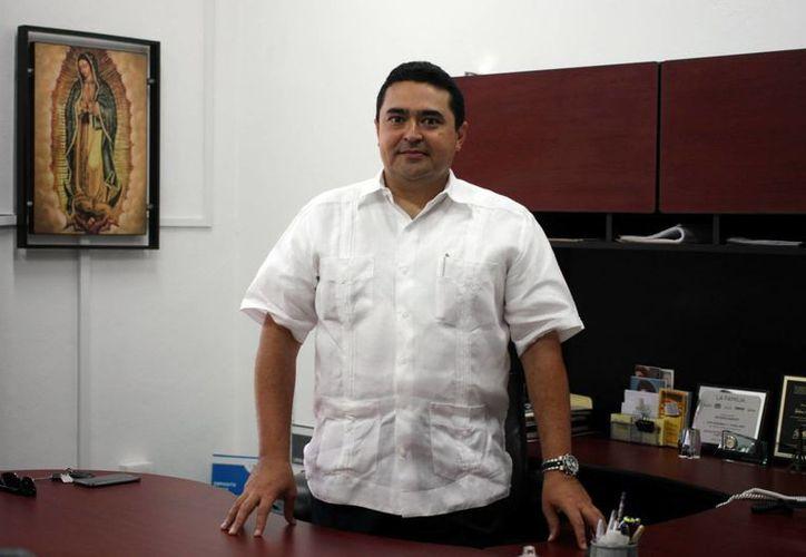 Guillermo Mendicuti considera que la responsabilidad social forma parte de la actividad empresarial. (Milenio Novedades)