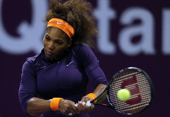A un punto está Serena Williams de volver a la cima del ranking de la WTA. (Agencias)