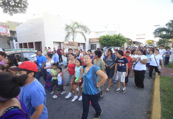 La marcha iniciará sobre la avenida Héroes y concluirá frente al Palacio de Gobierno. (Archivo/SIPSE)