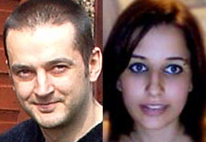 Mark Drybrough, de Coventry, Inglaterra, y Nadia Kajouji, de Brampton, Ontario, las personas que asistió William Melchert-Dinkel para suicidarse. (Agencias)