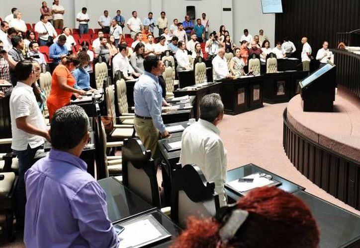 Las fracciones parlamentarias deberán ponerse de acuerdo para trabajar en la agenda de modernización. (Tomás Álvarez/SIPSE)