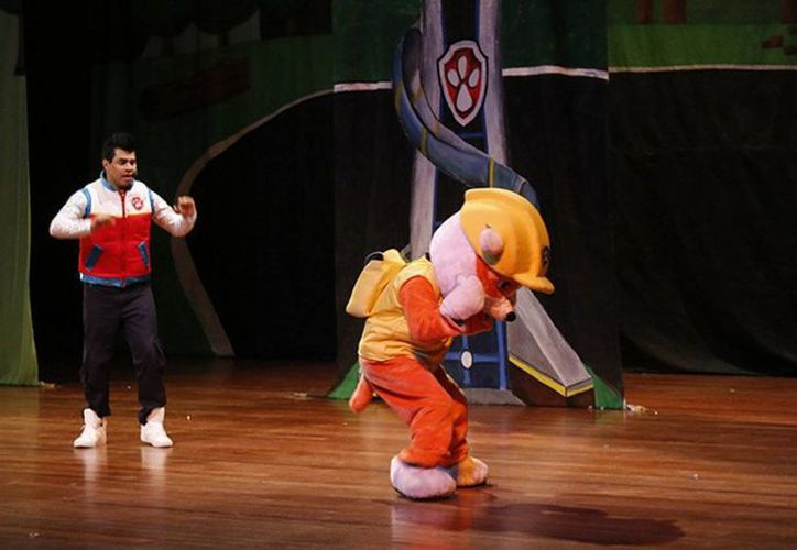 """""""Paw Patrol"""", nombre original de esta serie animada de acción y aventura, llega al Teatro de Cancún. (Redacción/SIPSE)"""