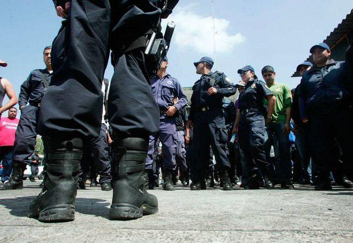 Por ley, los uniformados que fueron dados de baja de Michoacán no pueden ser reinstalados en sus funciones ni pertenecer a otra institución de seguridad. (Imagen de contexto/proceso.com.mx)