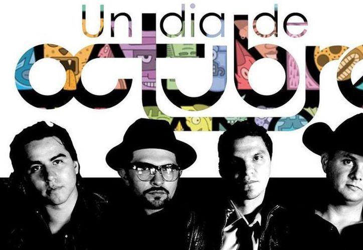 """De acuerdo con Monitor Latino, el tema """"Cada vez"""" del grupo Un Día de Octubre se colocó entre las canciones favoritas del listado pop a menos de tres semanas de su lanzamiento. (Facebook/Un dia de Octubre)"""