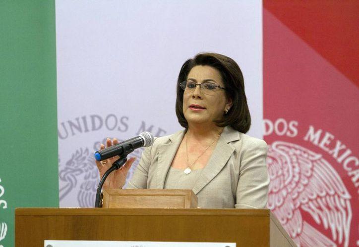 La titular de Profeco, Lorena Martínez, reconoció que en varias delegaciones estatales se han realizado despidos masivos. (Notimex)