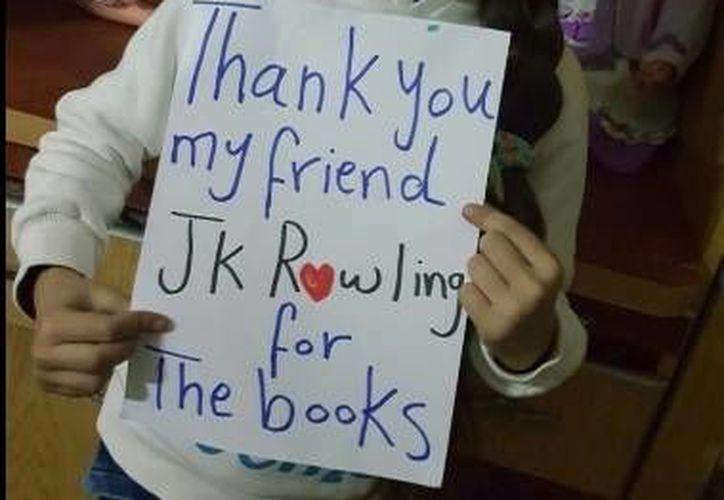 Bana Alabed contacó por Twitter a la autora de Harry Potter. (Twitter)