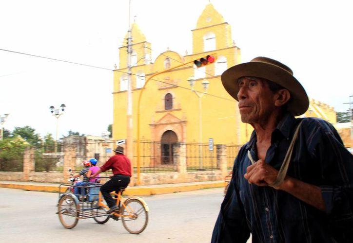 La mayoría de los migrantes yucatecos son del interior del Estado. La imagen corresponde a Oxkutzcab. (Milenio Novedades)