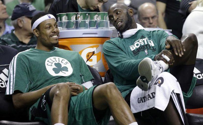 El recien retirado Jason Kidd será el entrenador de Pierce (i) y Garnett (d). (Agencias)