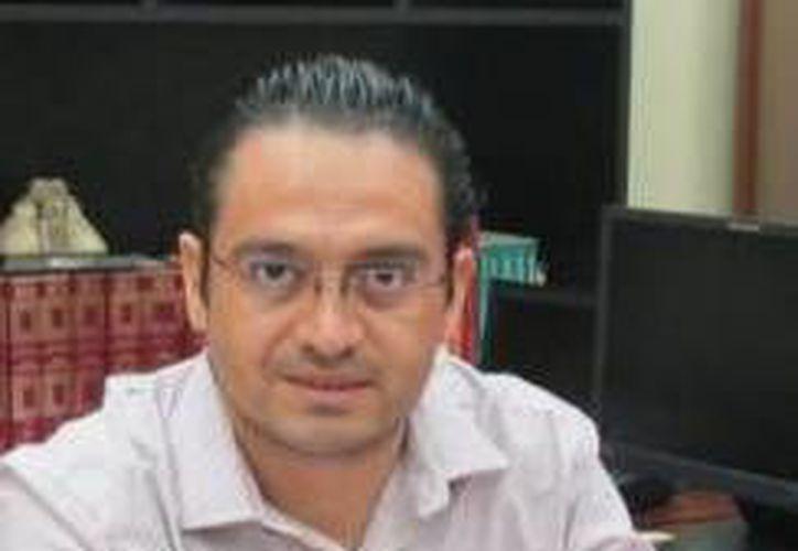 Omar Pérez Ávila, hasta el viernes pasado delegado de l SEP en Yucatán. (SIPSE)
