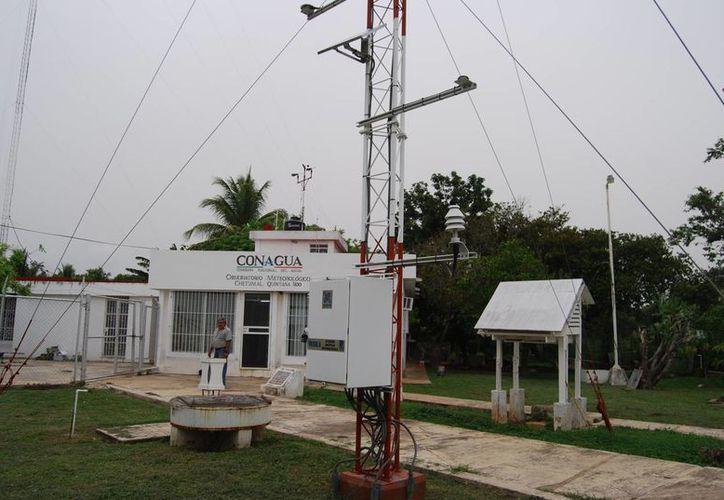 Los Observatorios Meteorológicos de superficie se encuentra en Chetumal y otro en Felipe Carrillo Puerto. (Gerardo Amaro/SIPSE)
