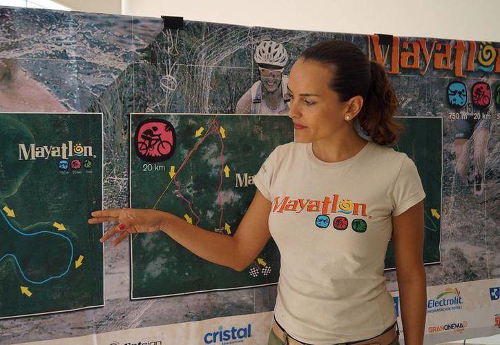 El costo incluye la transportación desde Cancún hasta Pac Chen y la afiliación por un día a la Federación Mexicana de Triatlón. (Francisco Gálvez/SIPSE)