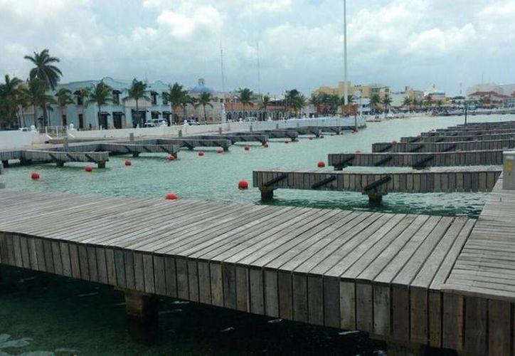 El muelle se pretendía construir en la costera sur de Cozumel, a la altura del kilómetro 12+957. (Redacción/SIPSE)