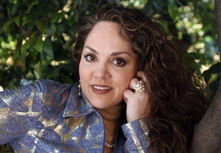 Tatiana ensayó por cuatro semanas para dar vida a Lupita, una secretaria en el musical 'Mentiras'. (Notimex/Archivo)