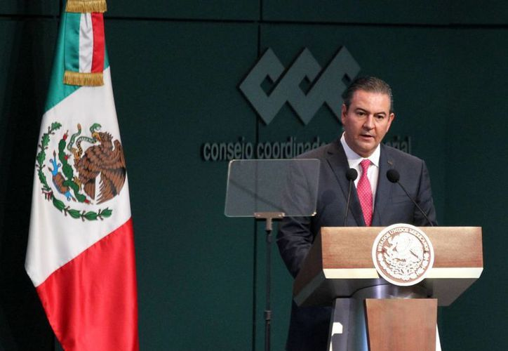 Gerardo Gutiérrez Candiani, titular del CCE, dijo en un comunicado que el 2015 viene con mejores pronósticos que los dos años anteriores. (Archivo/Notimex)