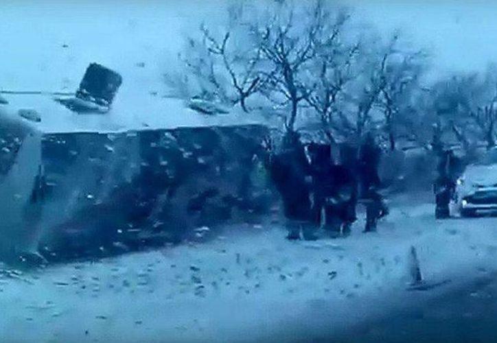 En un accidente de tránsito en Rusia, diez niños gimnastas y dos entrenadores fallecieron este martes. (Foto tomada de marca.com)
