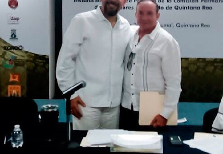 Cárdenas Lugo fue propuesto para la Coordinación de Contralores de la Zona Norte por Rafael del Pozo Dergal. (Redacción/SIPSE)