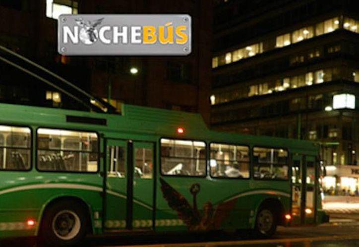 En el sitio web www.rtp.gob.mx del Gobierno de la Ciudad de México se encuentra la información sobre las diferentes rutas del transporte, entre ellas la del Nochebús. (Foto: www.diariodf.mx)