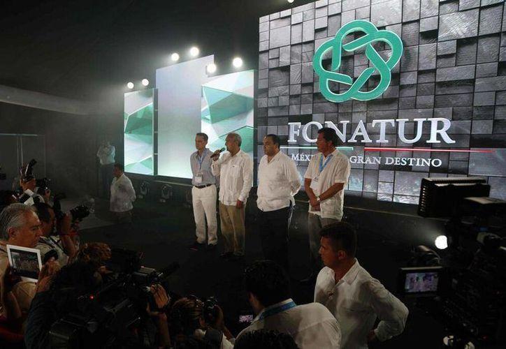 Conferencia de Fonatur en el Tianguis Turístico. (Redacción/SIPSE)