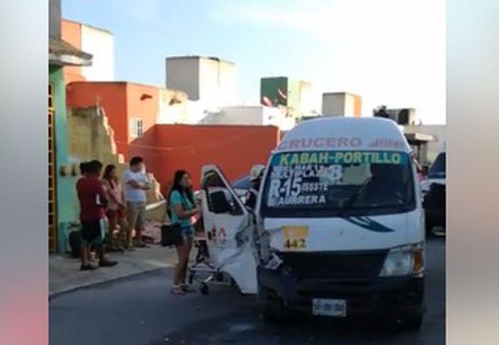 Entre los lesionados, se encontraba una mujer embarazada que fue trasladada al hospital. (Foto: O. Peralta)