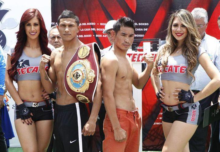 Miguel 'Alacrán' Berchelt saldrá como favorito en una pelea muy equilibrada, en el que defenderá su título. (Milenio Novedades)