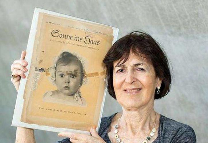 Hessy Taft dijo que al enviar su foto al concurso de las niñas arias más lindas su madre quería ridiculizar a los nazis. (Foto: Sitio web bild.de)