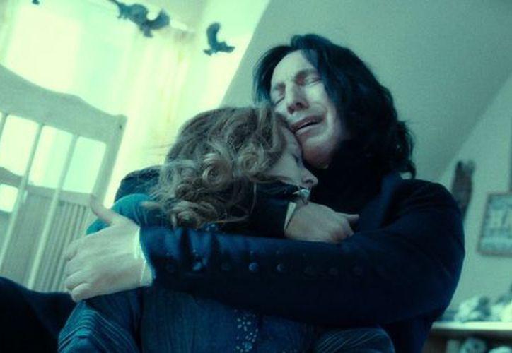 El cierre de la serie demostró que el papel Alan Rickman como Severus Snape, fue quiza el del anti-héroe más querido del cine. (Internet)