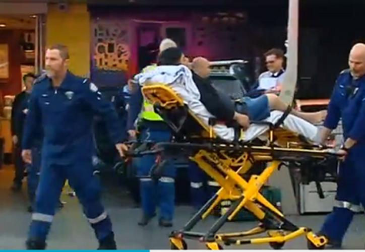 El incidente se ha producido después de que el conductor perdiera el control del vehículo. (Excelsior)