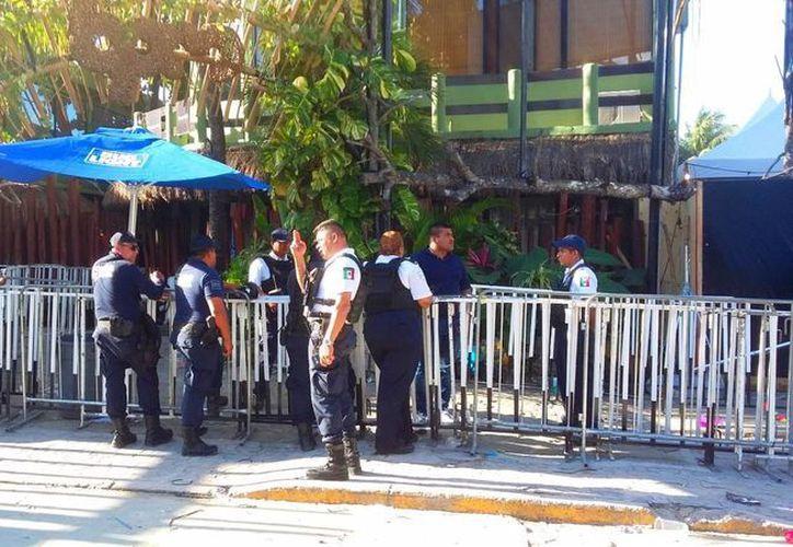 La discoteca fue asegurada por las autoridades. (Daniel Pacheco/SIPSE)
